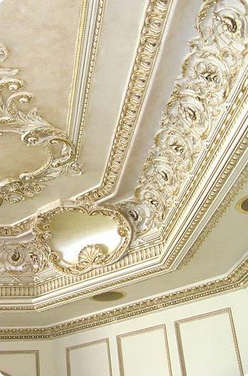 Sam S Custom Interior Finishes Ornamental Gold Leafing