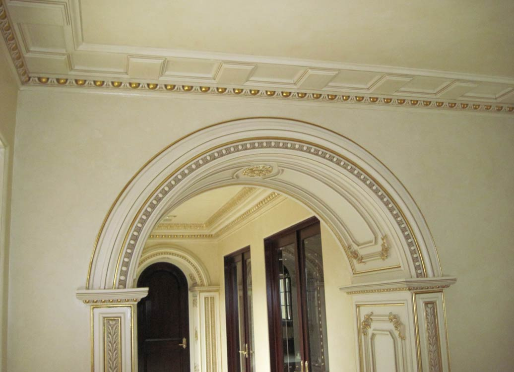 Columns and Archs - Sam's Interior Finish