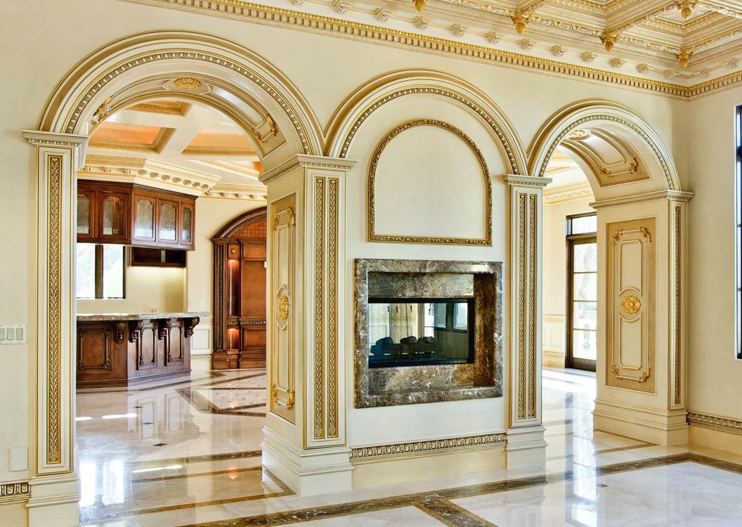 Columns And Archs Sam 39 S Interior Finish